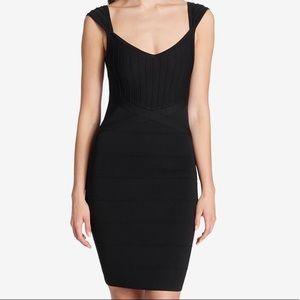 Nwt guess bandage dress black size 10